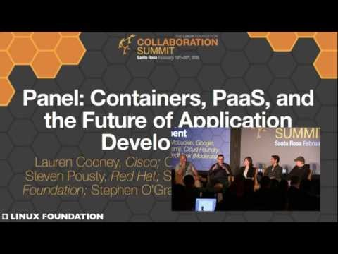 Collaboration Summit 2015 - Containers, PaaS, App Development