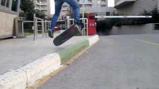 Emirhan mutlusu basamak kick flip SKATE OUR BURSA HD