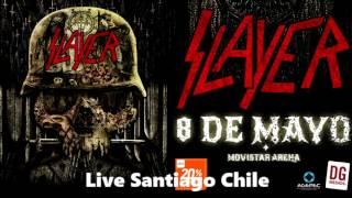Slayer Chile 2017 Full Concierto