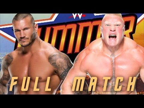 WWE Summerslam 2016: Brock Lesnar vs....