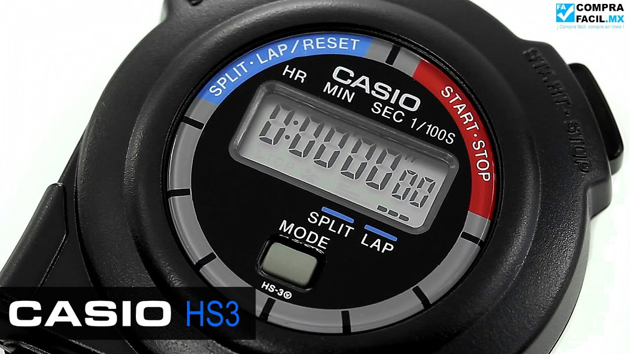 cron metro casio hs3 youtube