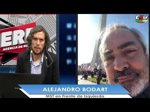 Alejandro Bodart: La situación de la gente es desesperante