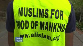 Ahmadi Muslims in Clean Up Australia Day