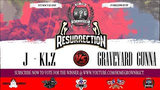 J Klz  vs Graveyard Gunna  | Homegrown Battleground | Co Hosted By TuSabe