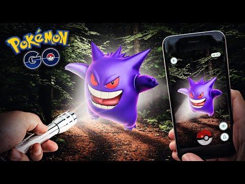 Pokemon GO - SCARIEST POKEMON HUNT EVER!!!