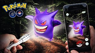 Pokemon GO - SCARIEST POKEMON HUNT EVER!!!