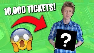 CASHING IN 10,000 TICKETS AT THE ARCADE!