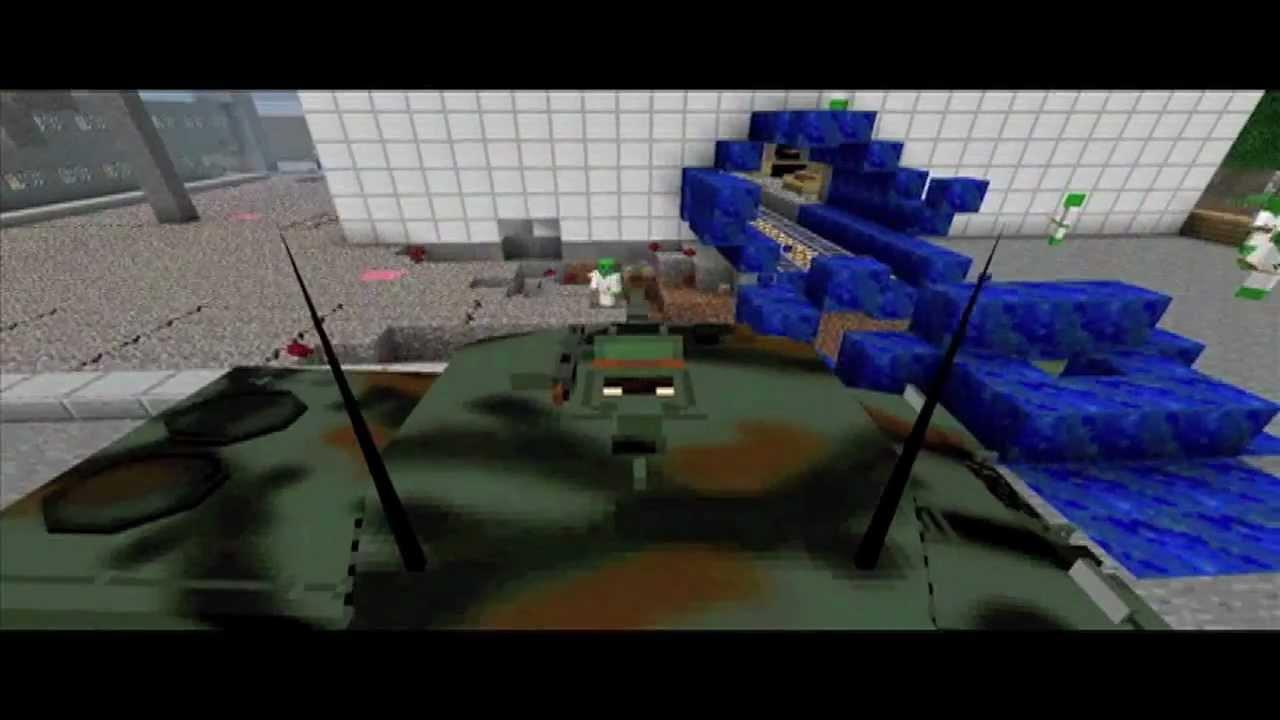 Minecraft alien invasion trailer - Woodward and bernstein film