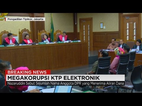 Full - Breaking News: Sidang Megakorupsi e-KTP from YouTube · Duration:  1 hour 38 minutes 10 seconds