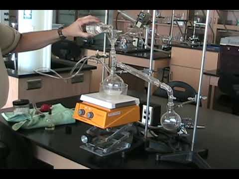 Simple Distillation Assembly Of Apparatus