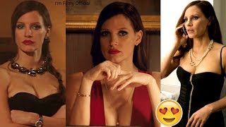 Molly's Game Bloopers, B-Roll & Behind the Scenes - Jessica Chastain 2018