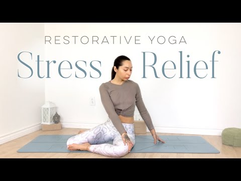 Restorative Yoga For Hips & Emotional Release | Best Stress Relief