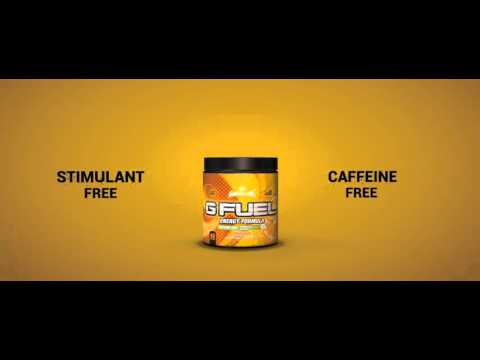 Caffeine-Free Energy | G FUEL Orange