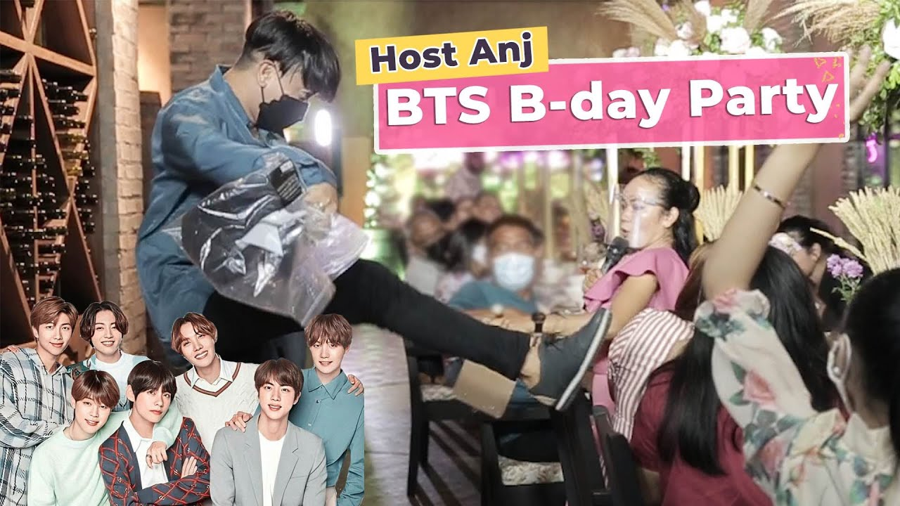 Host Anj's BTS Birthday Party!   Event 258
