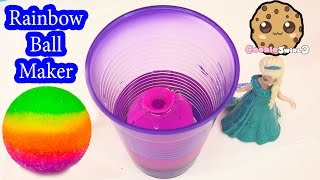 DIY RAINBOW Bouncy BAll Mad Lab Ball Creator Do It Yourself Set Playset Kit Cookieswirlc Video