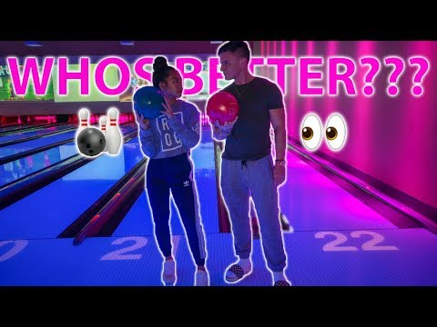 BEATING HER IN BOWLING | MADS VS. MAS PART 2