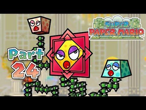 Super Paper Mario: Part 24 - The Menace of King Croacus!
