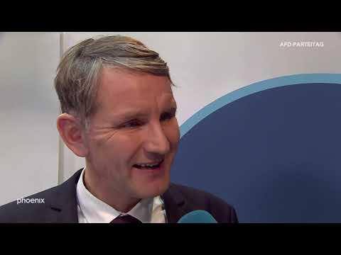 Björn Höcke (AfD Thüringen) im Interview beim AfD-Parteitag am 30.11.19