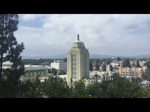 View of the San Fernando Valley from the Van Nuys courthouse