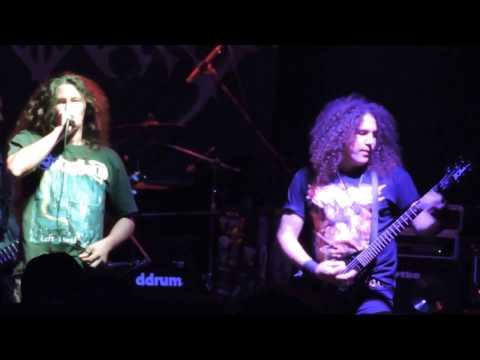 Ossuary - Comienzo del show en BJ Sala - Montevideo, Uruguay (8/4/2017)