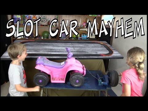 Slot Car fun with renewable energy - Make Science Fun