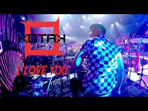 [Drum Cam] KOTAK - I Love You   Live Konser luar biasa Indosiar
