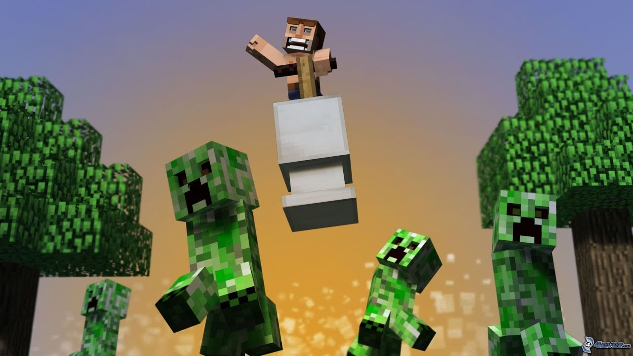 Make Cute Minecraft Wallpapers Baby Creeper A Minecraft Animation Youtube