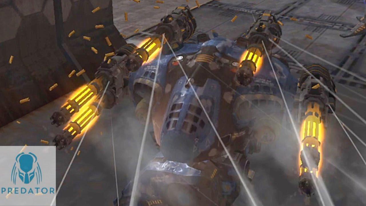 PUNISHER GAMEPLAY | VØX Vs SWARM POWERPLANT | War Robots ...