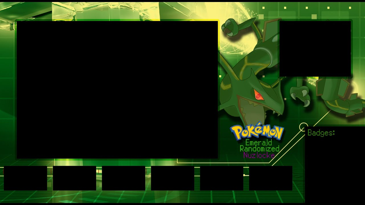 How to make a Pokémon let's play/nuzlocke layout - YouTube