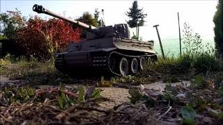 Video Taigen Tiger 1 RC tanks Metal download MP3, 3GP, MP4, WEBM, AVI, FLV November 2017