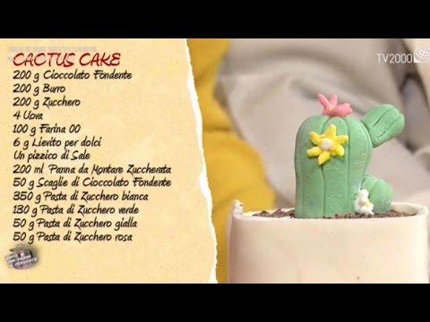 Cactus cake in due minuti