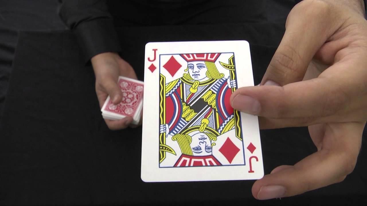 לימוד קסמים בקלפים