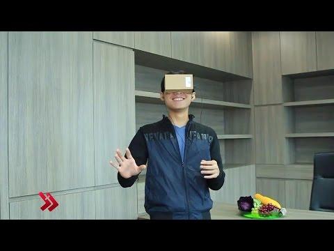 Google Cardboard Review Indonesia - Nikmati Virtual Reality dengan Murah