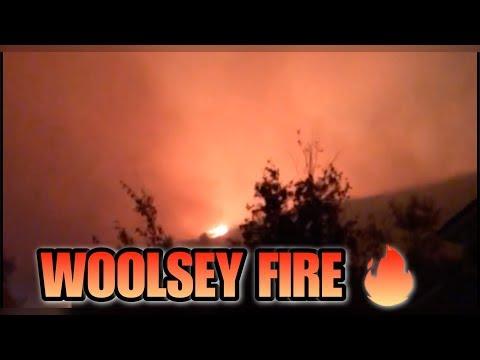 Woolsey Fire Vlog - Oak Park, Agoura Hills, Westlake Village -Ventura County Fires - vlog week 303