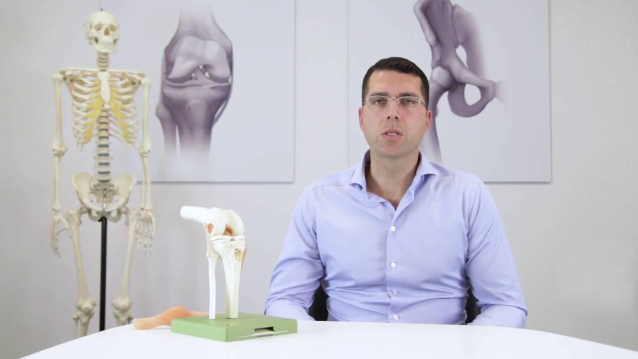 Wie funktioniert das Kniegelenk? - YouTube