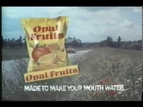 Opal Fruits 1980 Vintage British TV Commerical