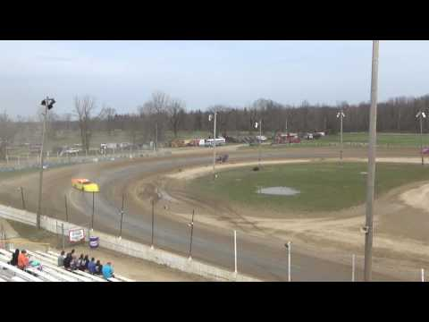 22. Late Models at Crystal Motor Speedway Test and Tune, 04-09-17
