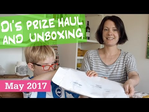 Di's Prize Haul and Unboxing May 2017