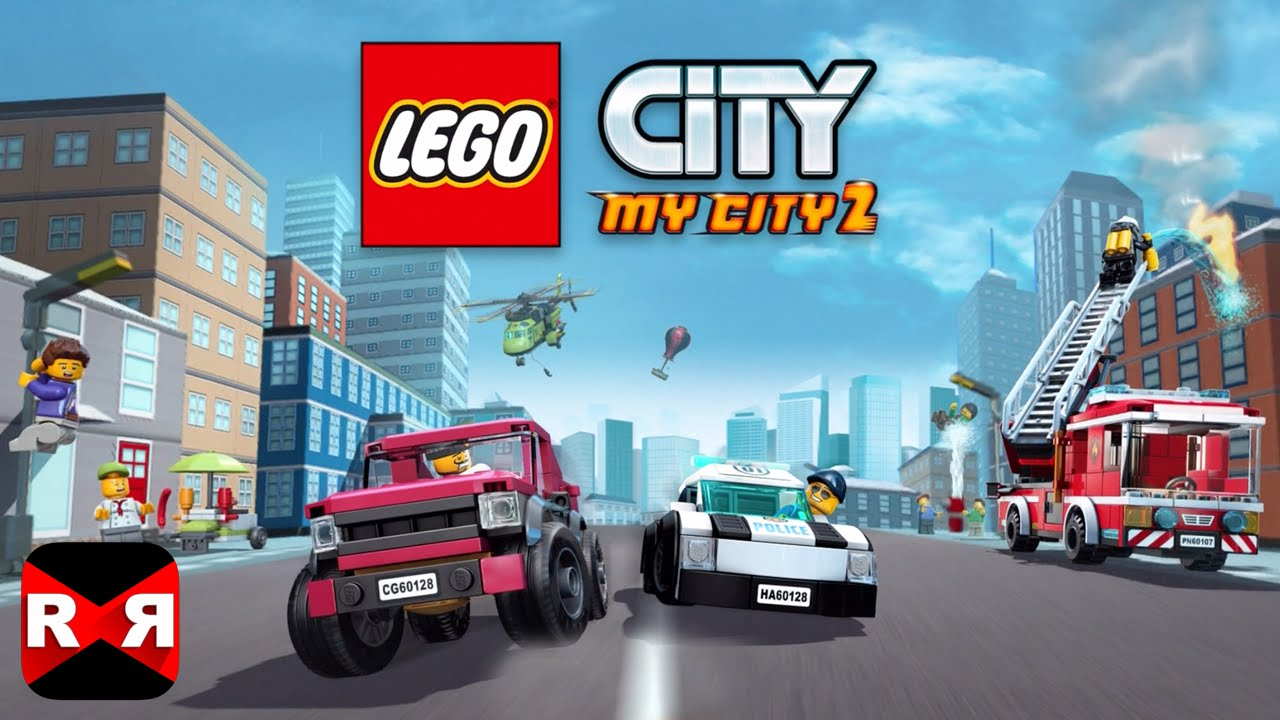 lego city my city 2 by lego systems ios android gameplay video youtube. Black Bedroom Furniture Sets. Home Design Ideas