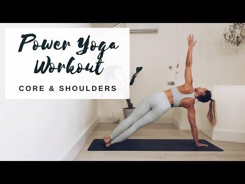 CORE & SHOULDER WORKOUT | Intermediate/Advanced Yoga | CAT MEFFAN