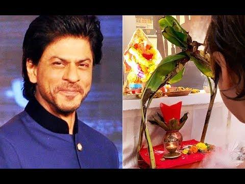 Shahrukh Khan And AbRam Bid Goodbye to Lord Ganesha | SpotboyE Mp3