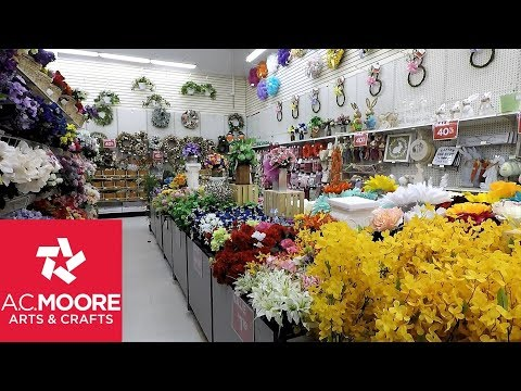 Repeat AC MOORE SPRING 2019 DECOR - HOME DECOR FLORAL SHOP