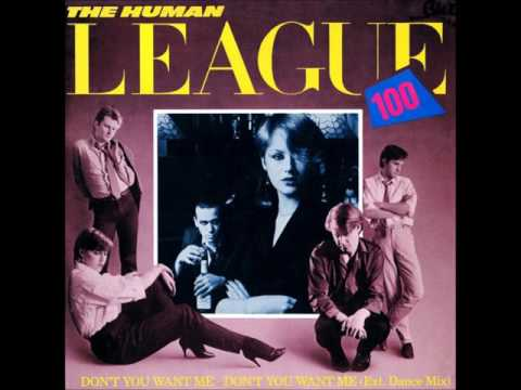 The Human League ' Don't You Want Me (Extended 12 Inch Version)'