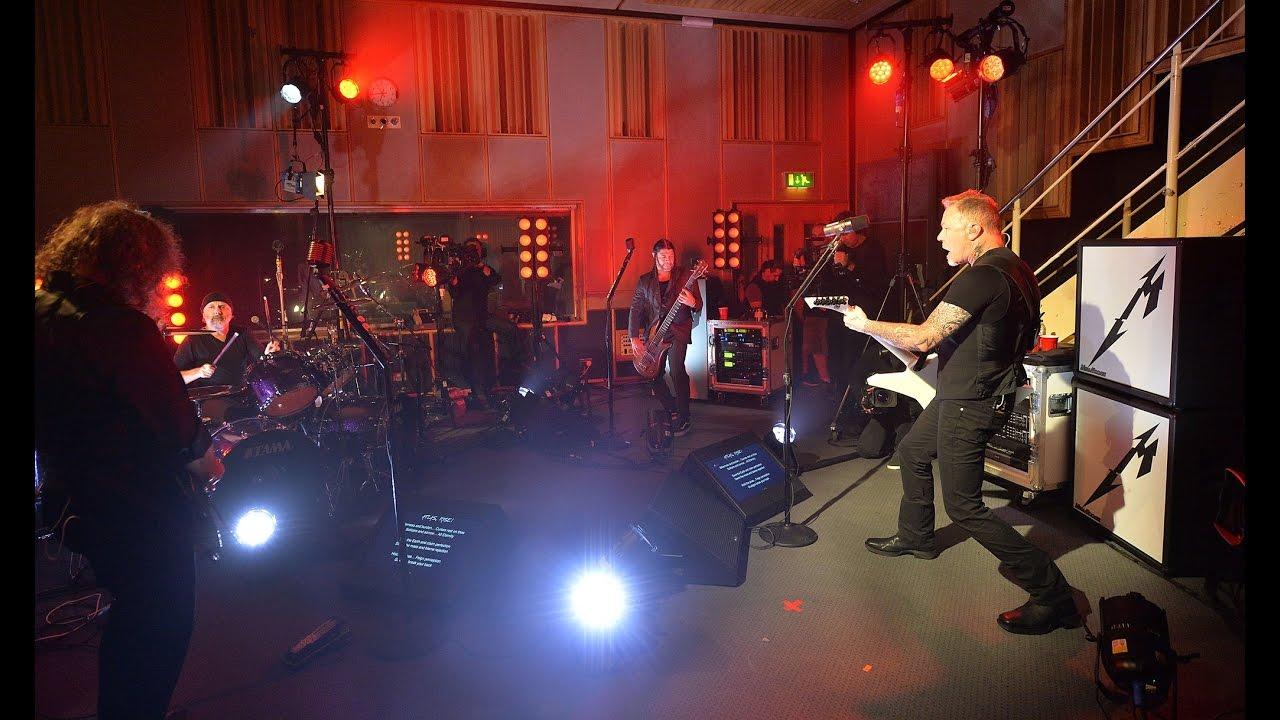 Metallica Live Downloads, 09/14/08 BBC Radio One Theatre ...
