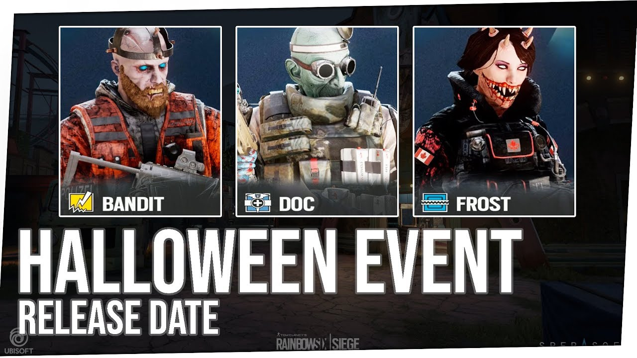 Rainbow Six Siege Halloween 2020 When NEW* Halloween Event Potential Release Date!   Rainbow Six Siege