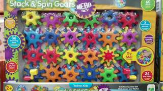 Costco! Learning Journey Stack & Spin Gears MEGA SET