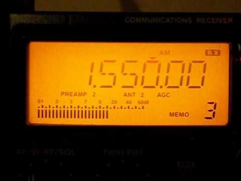 1550 khz - ALGERIA / WESTERN SAHARA - Saharawi Arab Dem Rep National Radio