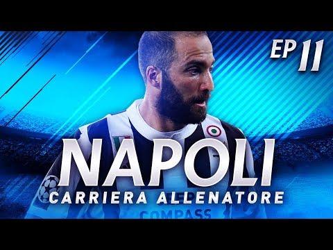 HIGUAIN TORNA A NAPOLI! | CARRIERA ALLENATORE NAPOLI EP.11 | FIFA 18 [ITA]