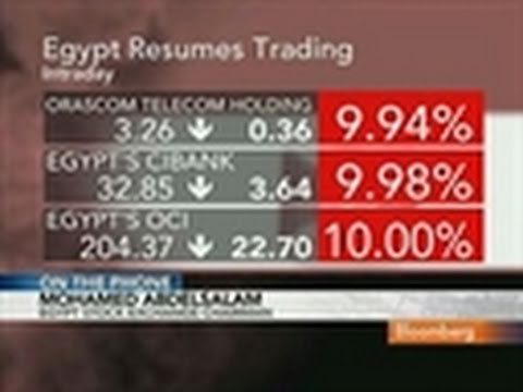Egypt Stock Exchange's Abdul Salem Discusses Trade Halt