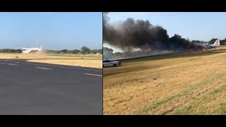 WWII C-47 Crashed in Burnet, Texas (Crash + Aftermath)